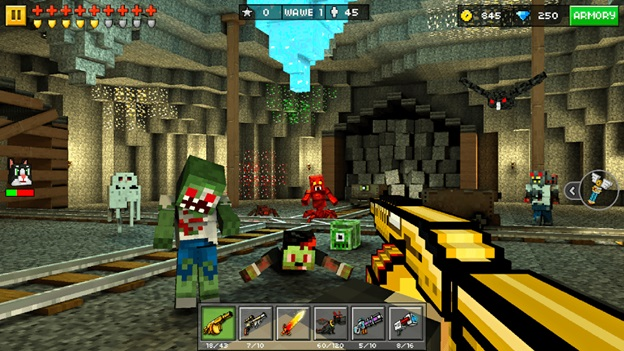 Get Pixel Gun 3D coins for playing Pixel Gun 3D efficiently